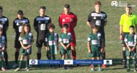 Highlights from the match between Sydney Olympic and the Sutherland Sharks. Visit https://www.youtube.com/playlist?list=PLxa2AB3-xOruwOZOVyGOnAmADD4MkJDxG for highlights of the other Round 11 matches.
