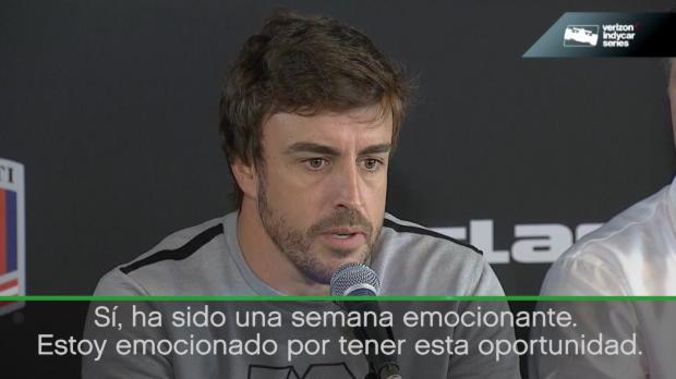 "500 millas de Indianápolis - Fernando Alonso: ""Será emocionante"""