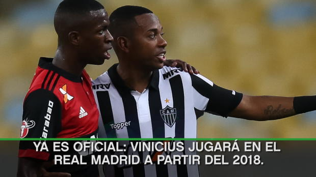 Oficial - Vinicius es del Real Madrid