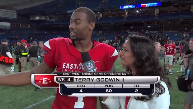 Georgia wide receiver Terry Godwin reflects on two-touchdown performance in Shrine Game