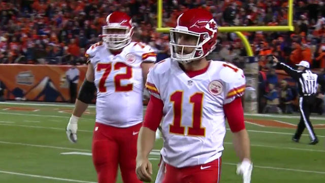 Alex Smith sacked by Shane Ray for loss