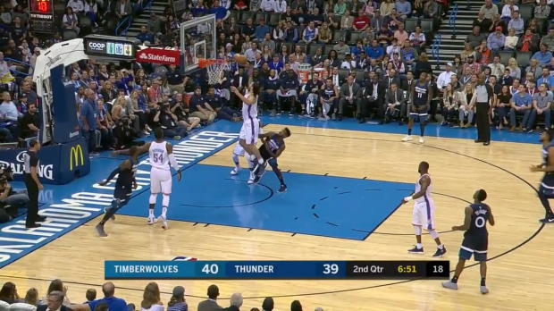 WSC: Russell Westbrook 31 points vs the Timberwolves