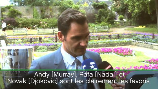 """Basket : Wimbledon - Federer - """"La première semaine sera cruciale pour le Big 4"""""""
