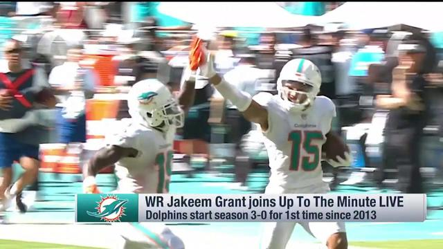 Jakeem Grant on Dolphins success: People said we wouldn't win three games all year