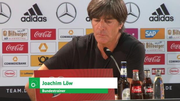 """WM-Quali: Löw: """"Großer Spaß"""" – auch für Werner"""