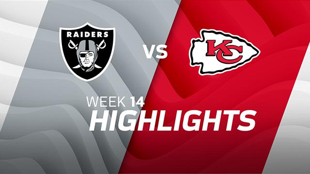 Oakland Raiders vs. Kansas City Chiefs highlights | Week 14