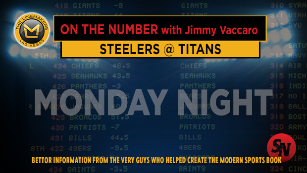 Jimmy V on Steelers @ Titans