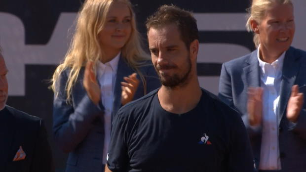 """Tennis : Bastad - Gasquet - """"Je veux jouer encore quelques années"""""""