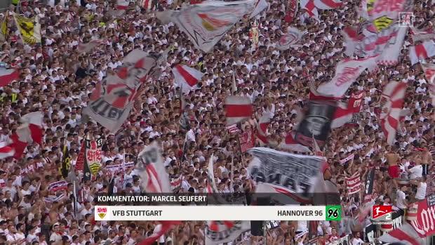 2. Bundesliga: VfB Stuttgart - Hannover 96   DAZN Highlights