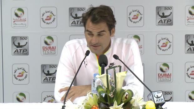 """Dubai: Federer über Coric: """"Wie Djokovic"""""""