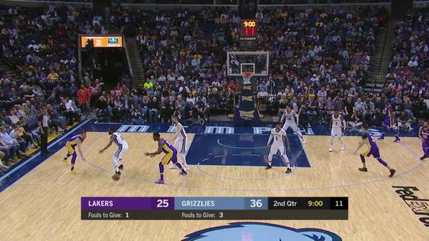 WSC: Julius Randle (20 points) Highlights vs. Memphis Grizzlies, 03/24/2018