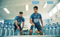 Daniel Arzani and Paulo Retre go head to head in the Bottle Flip Challenge as we announced a new partnership with Snowy Mountain Spring Water as our Official Water Partner for the 2017/18 season.