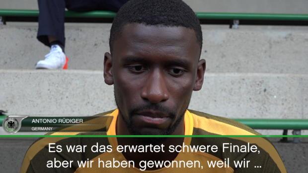 Confed Cup: Rüdiger: Haben uns Titel verdient!