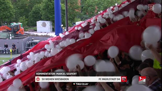 Relegation: SV Wehen Wiesbaden - FC Ingolstadt 04   DAZN Highlights