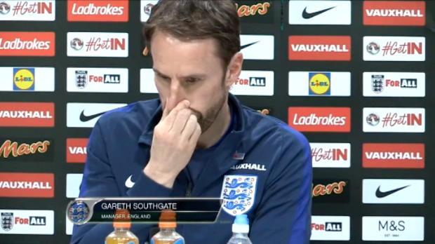 كرة قدم: دولي: ساوثغايت مدرّب انكلترا مسرور بتأثير ديفو الإيجابي