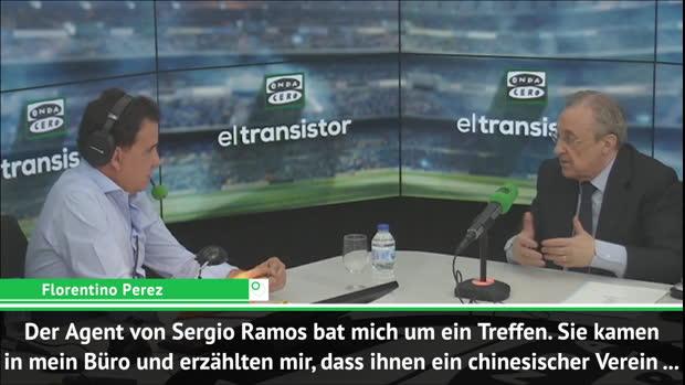 Perez erklärt: Ramos wollte ablösefrei gehen