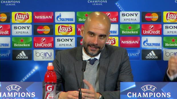 """Guardiola: """"Oblak ist ein guter Keeper"""""""