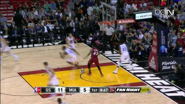 NBA : Curry a mis le feu au Heat