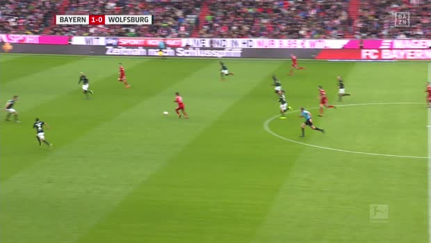 Bayern mit Traumkombination zum 2:0   Bundesliga Highlights
