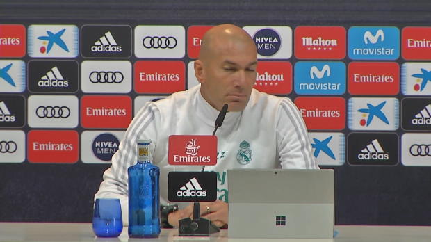 "Zidane winkt ab: ""Denke nicht an Zukunft"""