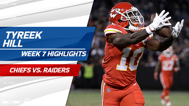Kansas City Chiefs wide receiver Tyreek Hill highlights | Week 7