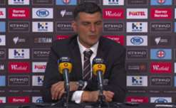 John Aloisi said he was disappointed his side stopped playing for Melbourne City's goal.