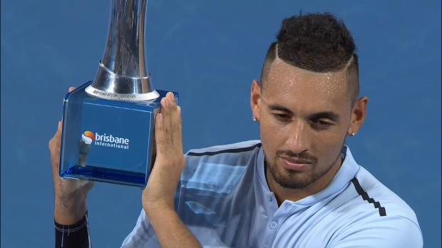 Brisbane: Kyrgios gewinnt Titel im Heimatland
