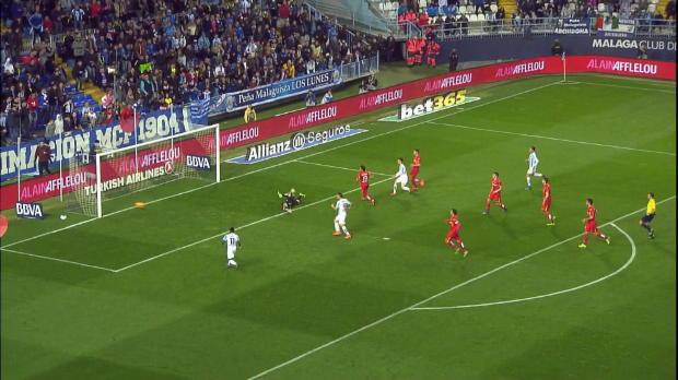 LaLiga Round 23: Malaga 3-0 Getafe