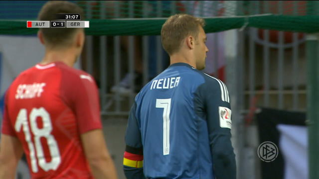 FOOTBALL: International: Austria 2-1 Germany Thumbnail