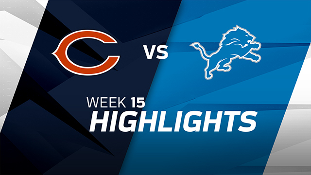 Bears vs. Lions highlights | Week 15