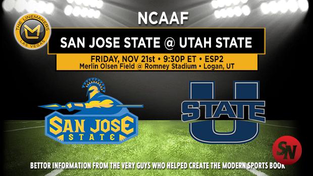 San Jose State Spartans @ Utah State Aggies