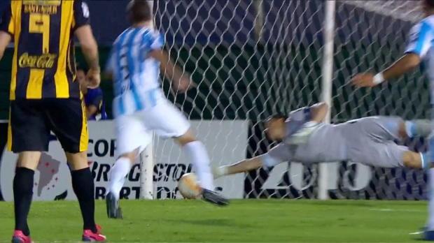 Copa Libertadores: Tritt, Wischer-Rot, Tor