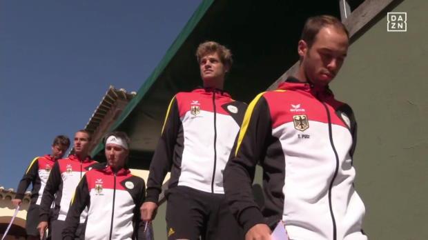 Portugal - Deutschland Tag 1 Spiel 1 Davis Cup