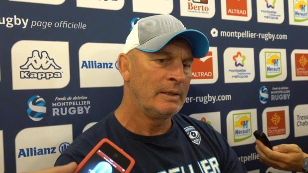 """Rugby : Top 14 - 7e j. : Cotter : """"Notre meilleur match de l'année"""""""