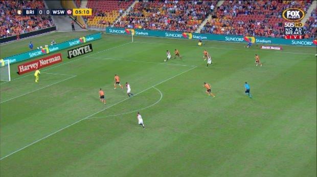 Roar v Wanderers EF highlights