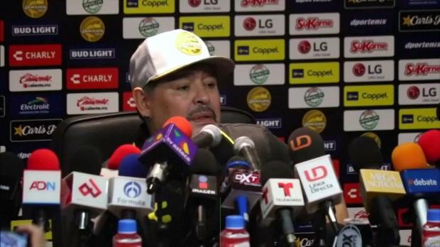 Mexiko: Maradona mit 4:1-Sieg bei Trainer-Debüt
