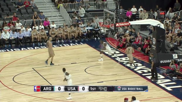 WSC: Highlights: Kevin Durant (23 points) vs. Argentina, 7/22/2016
