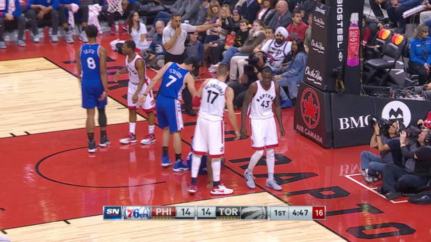 Block of the Night - Pascal Siakam