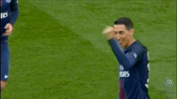 لقطة: كرة قدم: دي ماريا يضاعف تقدّم سان جيرمان أمام مونبيليه بفضل تسديدة متقنة