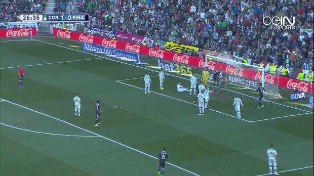 Real Madrid : Benzema égalise contre Cordoba