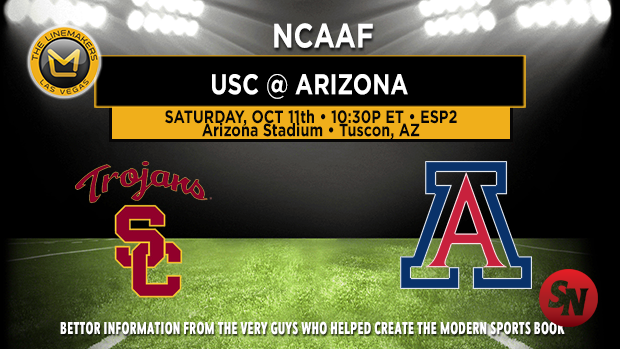 USC Trojans @ Arizona Wildcats