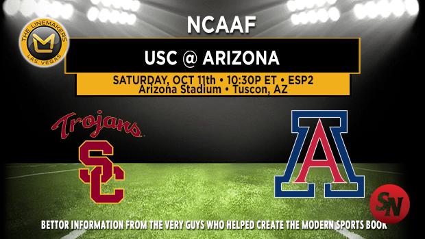 USC Trojans @ Arizona Wildcats