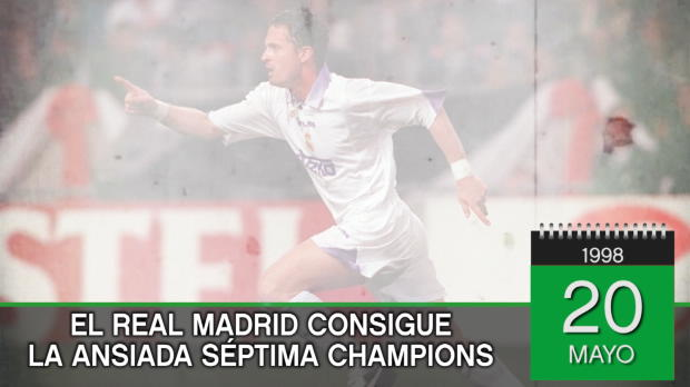 Tal día como hoy... el Real Madrid ganó la Séptima