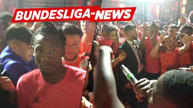 Batshuayi abgefeiert | Bundesliga-News