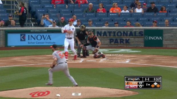 Trumbo starts inning-ending DP