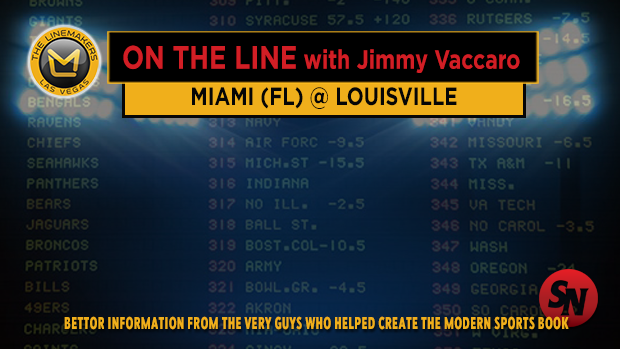 Jimmy V on Miami Florida @ Louisville