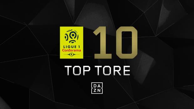 Top 10: Die schönsten Tore der Ligue 1 2017/18