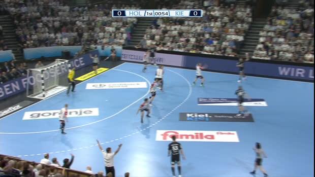 EHF Cup: Holstebro - Kiel | DAZN Highlights