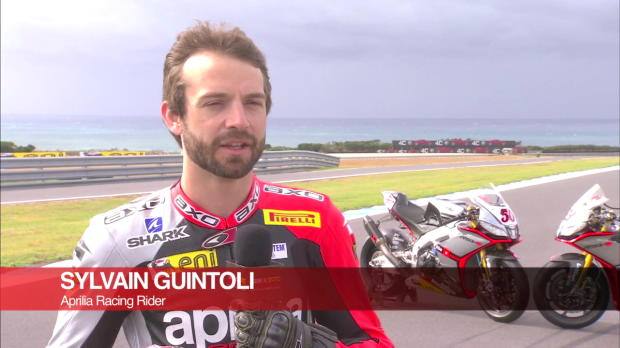 Sylvain Guintoli reflects on new-look Aprilia