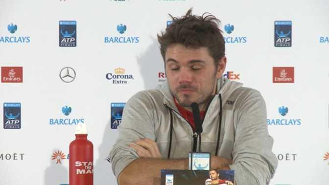 """Masters de Londres - Wawrinka : """"Je peux battre Federer"""""""
